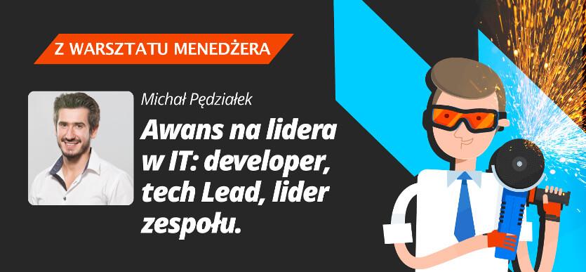 Podcast Awans na lidera w IT: developer, tech Lead, lider zespołu